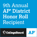 9th Annual AP District Honor Roll